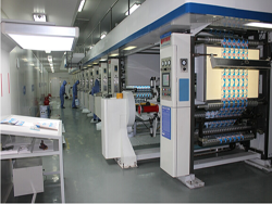 9 color engrave printing machine